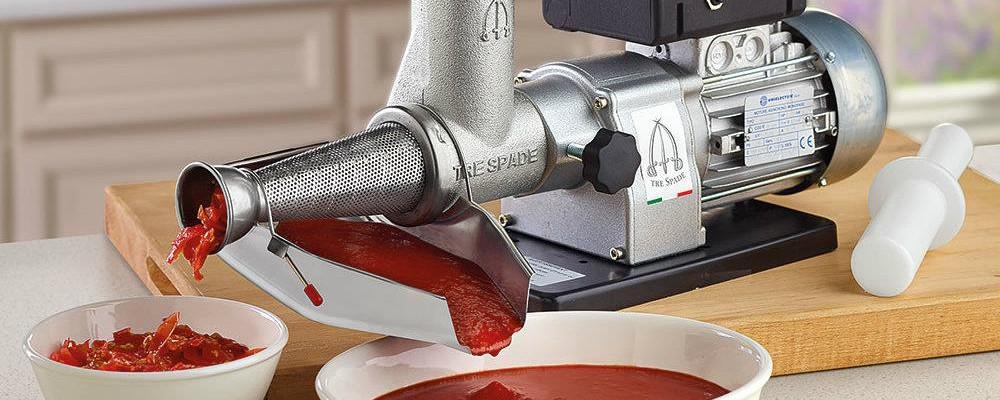 macchina per passare i pomodori