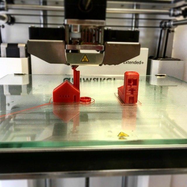 piccoli oggetti stampati con la stampante in 3d