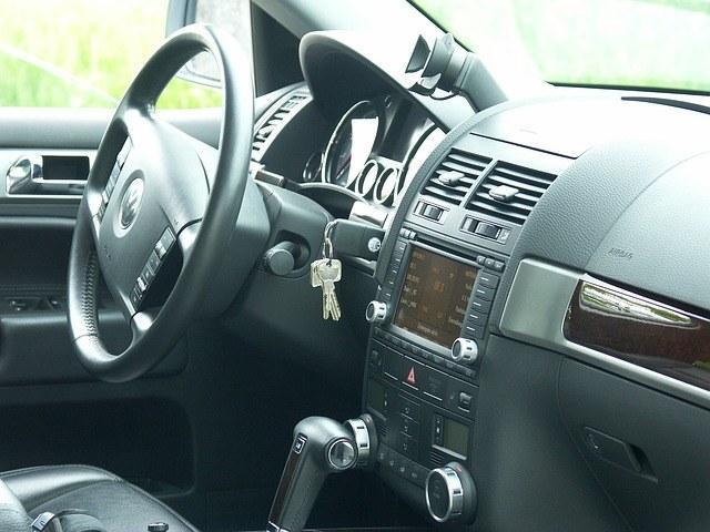 interno della macchina