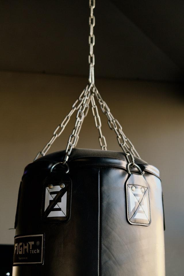 sacco da boxe, particolare