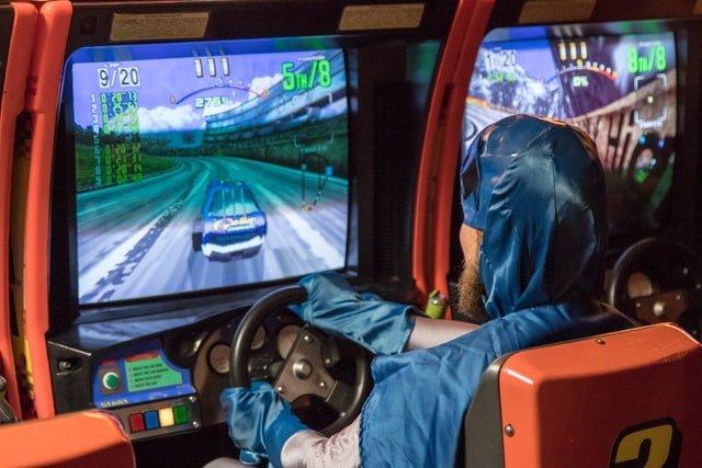 volante per videogiochi