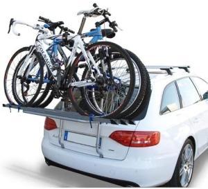 Portabici posteriore per 3 biciclette